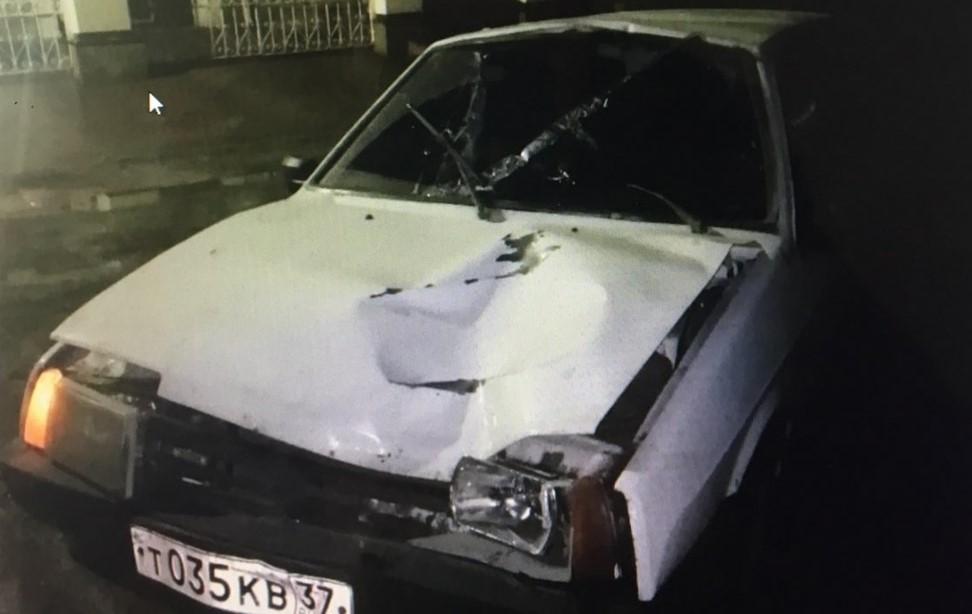 ДТП в Кохме 8 марта: после аварии полицейские нашли машину