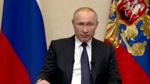 Путин о коронавирусе 25 марта: следующая неделя выходная с 25 марта по 4 апреля