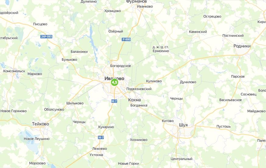Индекс самоизоляции в Иваново на 4,5 балла из 5