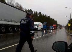 Регион не закрыли: пробка на въезде в Ивановскую область попала на видео