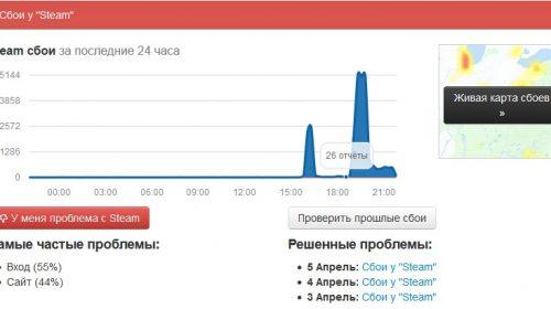 В Иванове Steam не работает: Valve опять молчит о сбоях