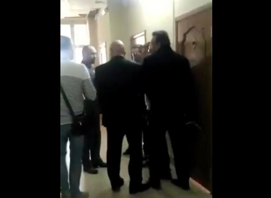 Драка в администрации на видео: мэрия пока не озвучила позицию