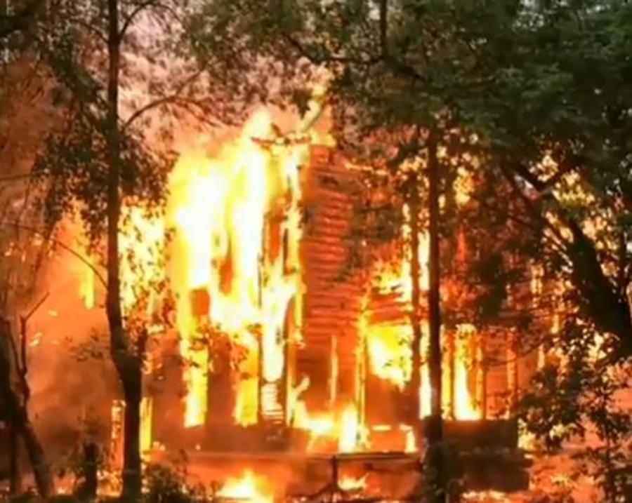 пожар на Сортировке