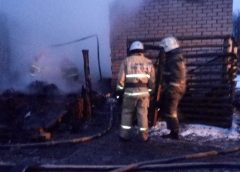 В Ивановском районе сгорели мать с сыном