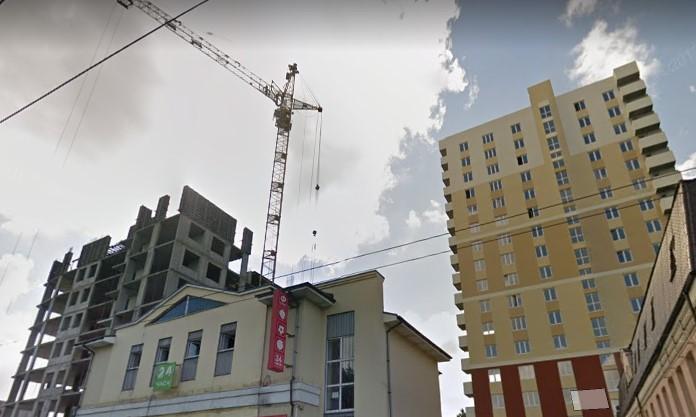 После вмешательства прокуратуры достроили дом на Карла Маркса