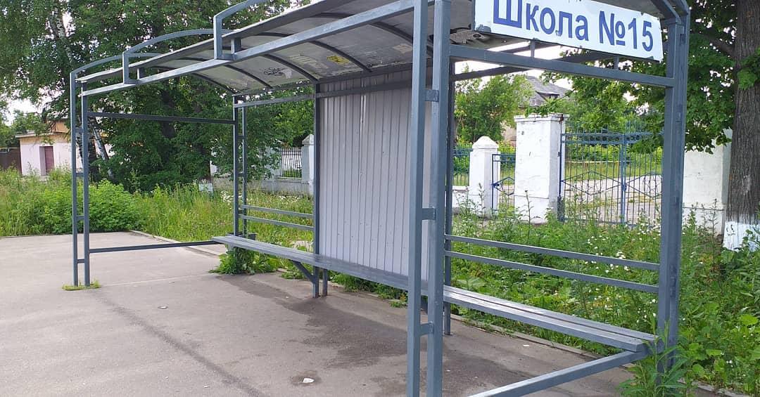 В Иванове еще не нашли воров металла с остановки у школы №15