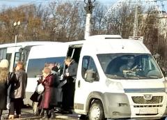 В Иванове в маршрутке №38 травмировалась пассажирка