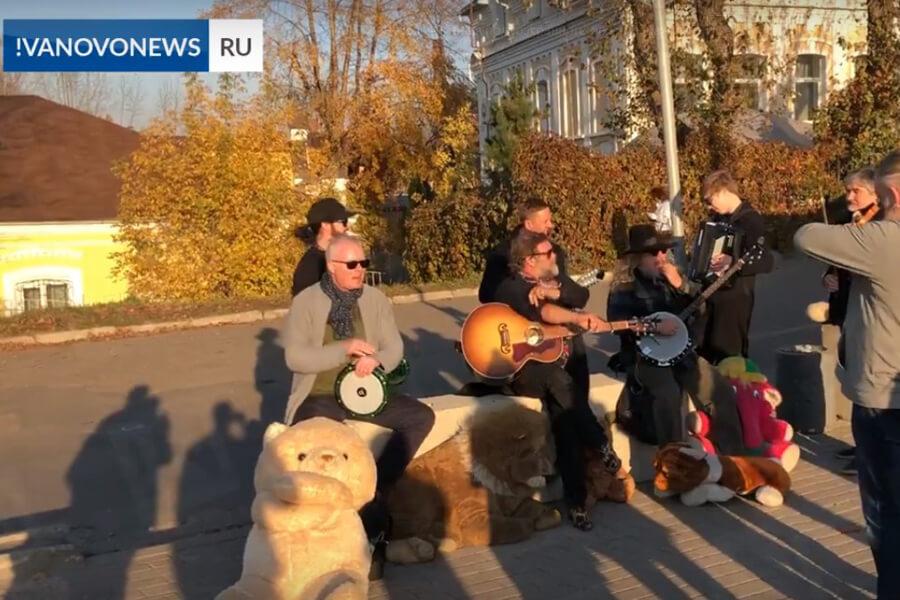 Где выступил Борис Гребенщиков в Иваново