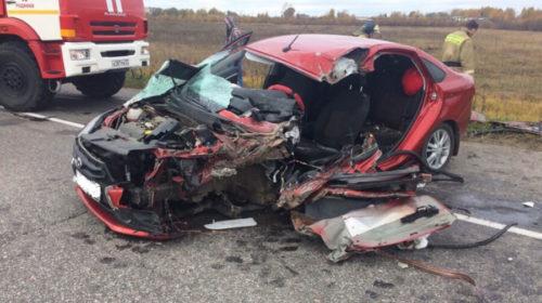 ДТП на трассе Ковров-Шуя-Кинешма в Ивановской области спровоцировала автоледи