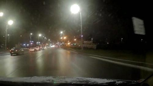 Опубликовано видео момента ДТП маршруток на Куконковых — Любимова в Иванове
