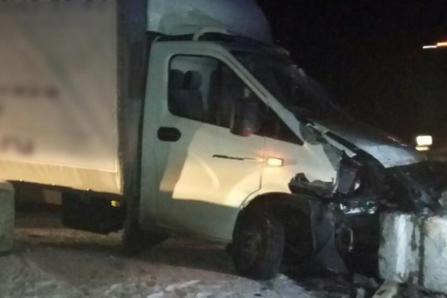 В ДТП на трассе М-7 «Волга» пострадал водитель ГАЗели