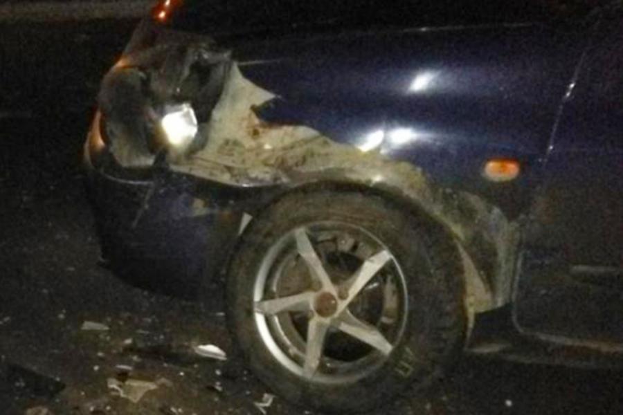 Невиновный водитель скрылся с места ДТП на дороге Курьяново - Ново-Талицы