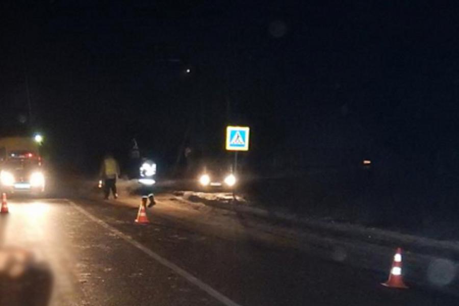 Сбили женщину на трассе Ростов-Иваново-Нижний, водитель скрылся
