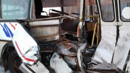 В ДТП с автобусом на трассе Ковров-Шуя-Кинешма пострадали четыре человека