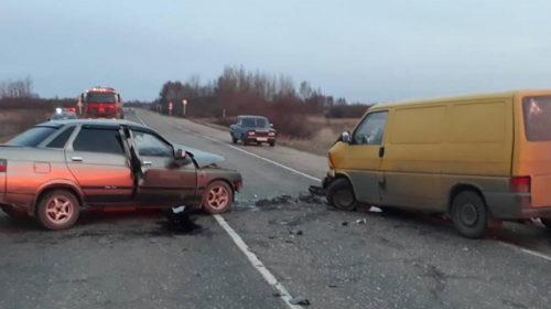 Водитель ВАЗ-2110 спровоцировал ДТП на трассе Ростов-Иваново-Нижний