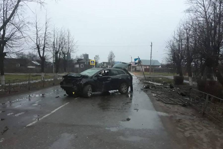 После ДТП в Юже водителя Mazda CX7 арестовали на восемь суток