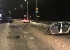 Два человека пострадали в ДТП на Кохомском шоссе вечером воскресенья
