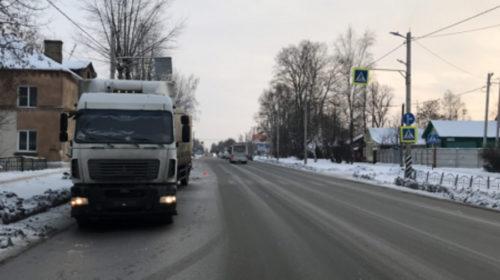 Авария на Некрасова: грузовик сбил женщину на пешеходном переходе