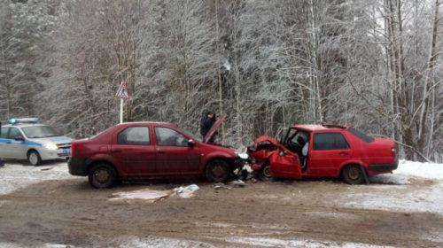 Два человека пострадали в ДТП на дороге Шуя-Котюрево-Реньково