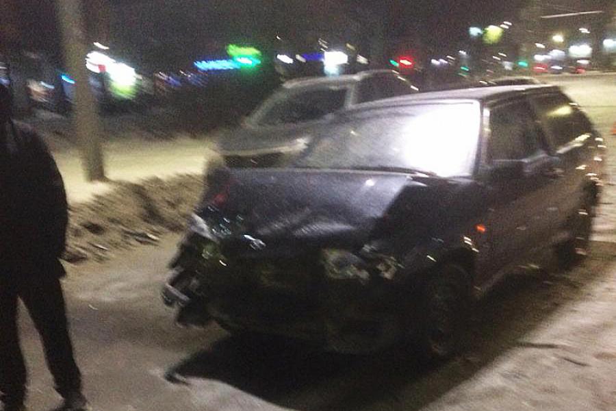 Авария на Лежневской была спровоцирована неопытным водителем