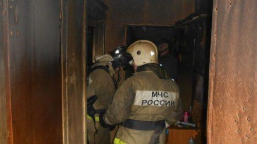 Пожар в Институтском проезде: ночью горела квартира