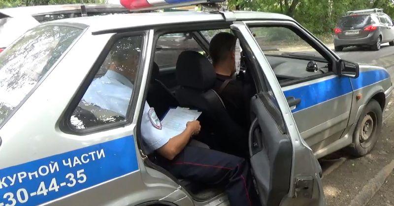 Задержан водитель маршрутки, скрывшийся с места аварии на 1-ой Отрадной