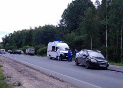 Авария в Ивановском районе с участием четырех автомобилей