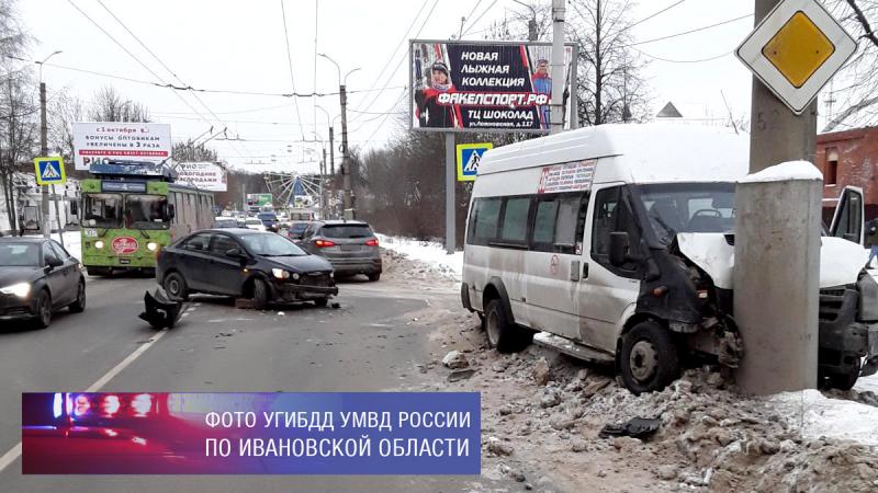 За сутки в маршрутках Иванова пострадали 11 человек