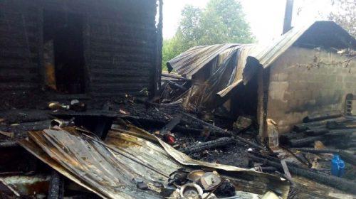 На пожаре в Заволжске сгорел 15-летний подросток