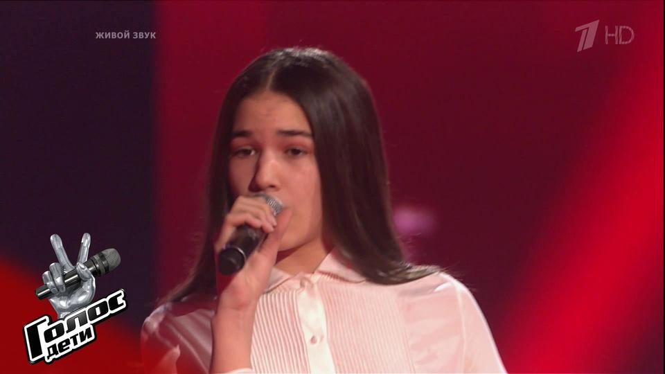 Анастасия Сисаури прошла в следующий тур «Голос.Дети»