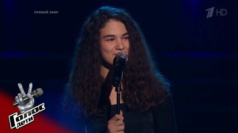 Анастасия Сисаури прошла в финал шоу «Голос.Дети»