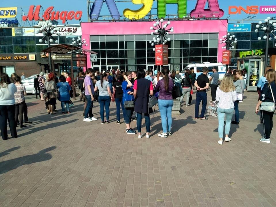 Эвакуация в городе Иваново задела автовокзал и торговые центры