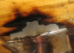 В Южском районе горела баня: на пожаре пострадал человек