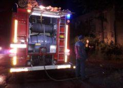Пожар на Панфилова в Комсомольске: пострадал человек