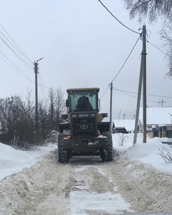 Снег в частном секторе города постепенно убирают, открыта горячая линия