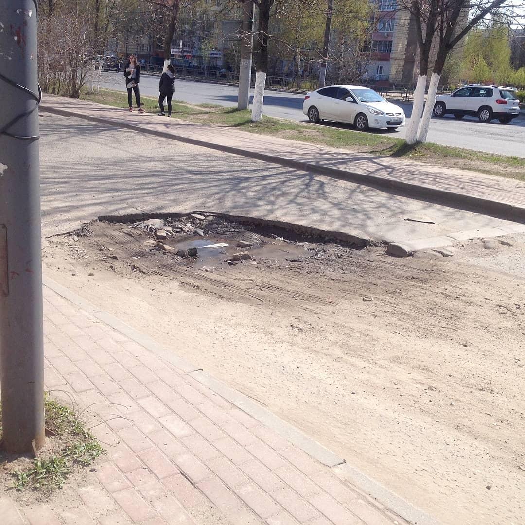 Мэрию Иванова накажут за ремонт дороги у «Евролэнда»