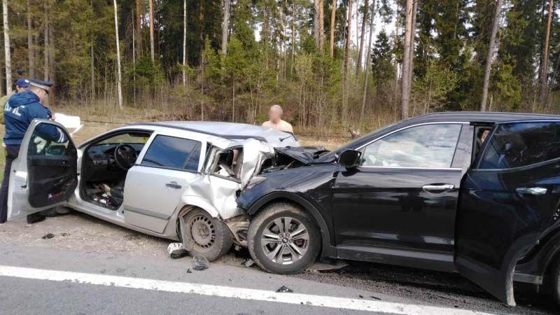 Авария на трассе М-7 Волга: четыре человека с травмами в больнице