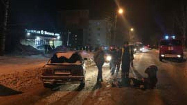 В Кинешме легковушка сбила девушку-пешехода
