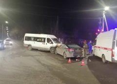 ДТП с пострадавшими на Герасима Фейгина: маршрутка врезалась в иномарку