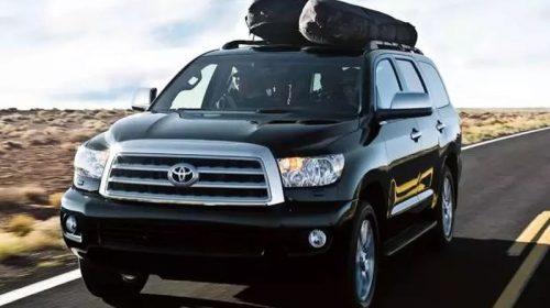 Автомобиль Toyota Sequoia возглавил пятерку самых выносливых кроссоверов