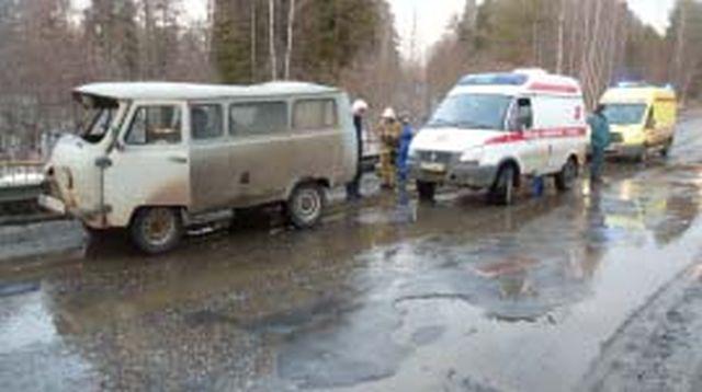 Авария на дороге Кинешма - Юрьевец: в разбитом УАЗе пострадали люди