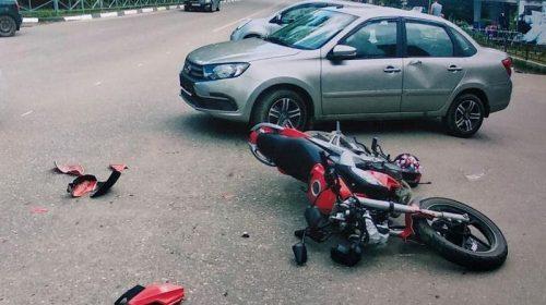 В Фурманове автоледи сбила мотоциклиста