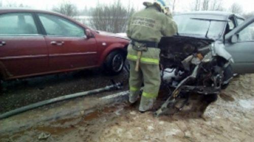 Тройная авария произошла на автодороге Ковров-Кинешма