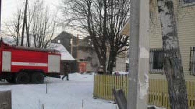 Пожар в Тейковском районе: сгорела крыша и чердак неэксплуатируемого здания