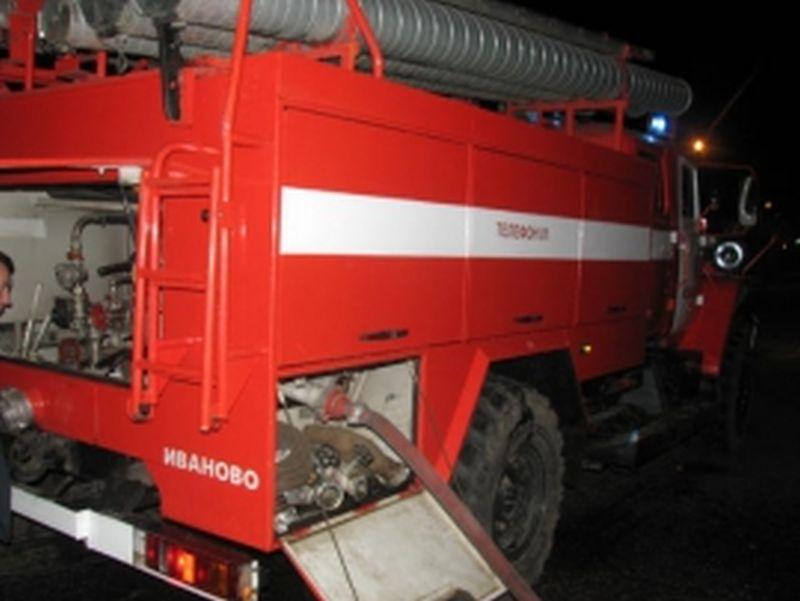 В Тейкове в выходные сгорело кафе на 200 квадратах