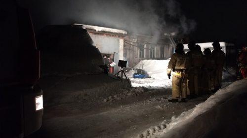 Пожар на Рабочей на видео: воду для тушения пытались включить трижды