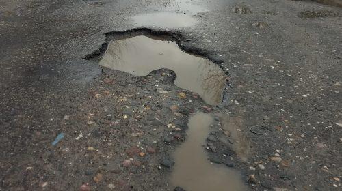 За ямы на дорогах мэрию оштрафовали на 100 тысяч рублей