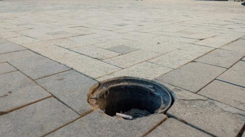 Подрядчик винит мэрию в разбитой площади Ленина