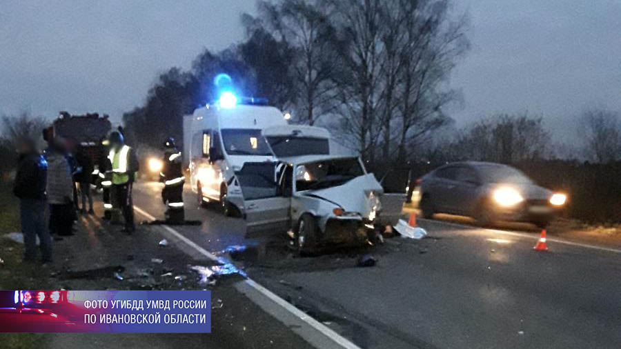 В ДТП на дороге Иваново – Ново-Талицы погиб человек