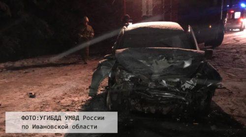 Два человека пострадали в аварии на трассе Иваново-Родники